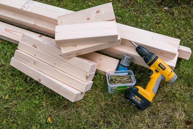Omtyckta Bygg en sittbänk till skjutbanan. | Skjutbanan.com QF-47