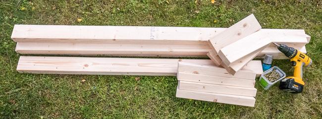 Underbar Bygg en sittbänk till skjutbanan. | Skjutbanan.com GQ-34