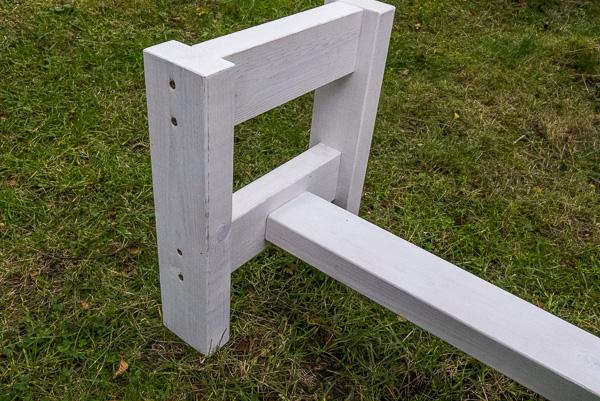 Kända Bygg en sittbänk till skjutbanan. | Skjutbanan.com PB-41
